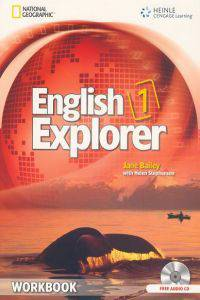 English Explorer 1: Workbook with Audio CD