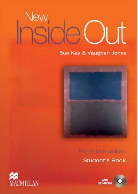New Inside Out Student Book Pre Intermediate With CD Rom