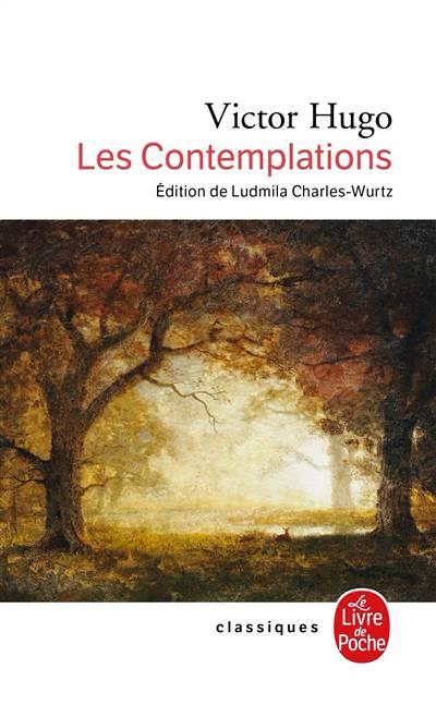 Les Contemplations Poesie Et Theatre Poche Litterature