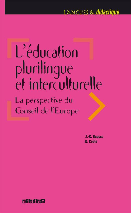 L'éducation plurilingue et interculturelle. La perspective du Conseil de l'Europe - Ebook