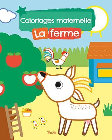 Coloriages Maternelle La Ferme De 3 A 6 Ans Jeunesse Livres