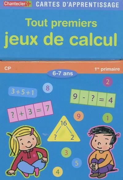 cartes d 39 apprentissage tout premiers jeux de calcul cp 1re primaire 6 7 ans educatif. Black Bedroom Furniture Sets. Home Design Ideas