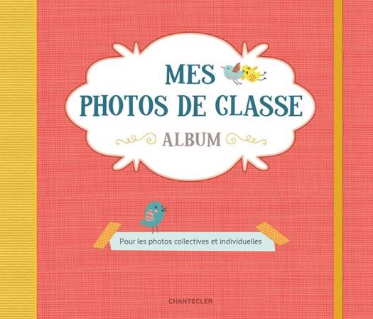 Mes Photos De Classe Album (rouge)