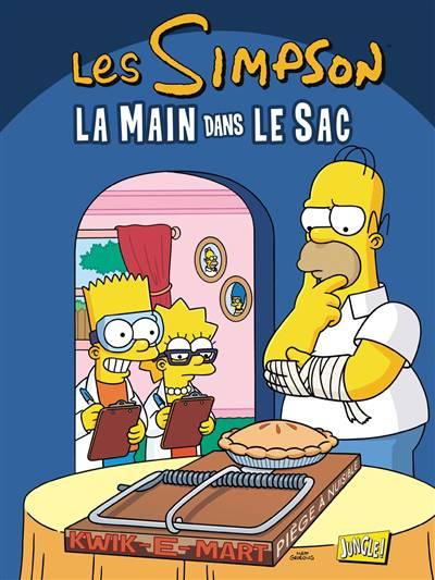 Les simpson la main dans le sac autres bandes dessin es bd livres fran ais livres - Bande dessinee simpson ...