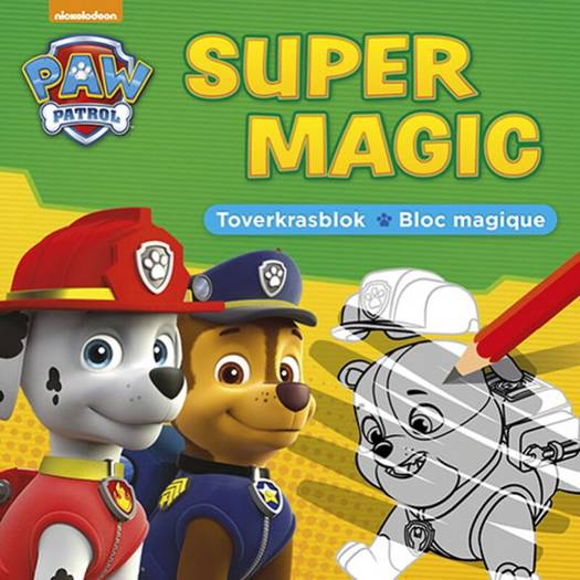 Paw Patrol Super Magic toverkrasblok / La Pat'patrouille Super Magic bloc magique