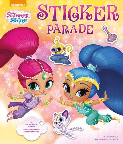 Shimmer and Shine Sticker Parade